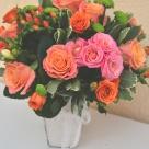 Flori: trandafiri, yoko, hypericum și miniroze; Preț: 204 lei.